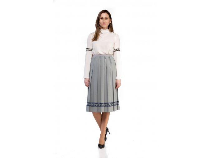 Plisovaná sukňa MIDBOX