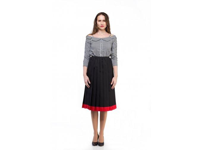 Plisovaná sukňa FLAT